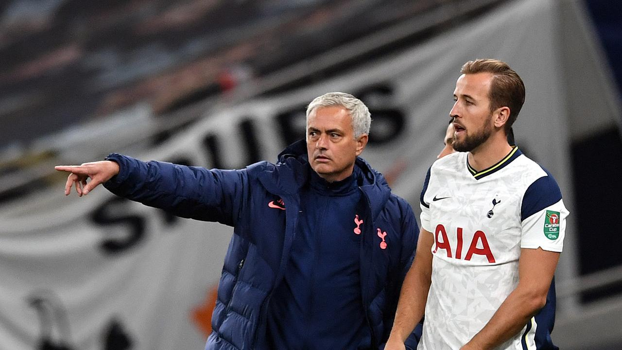 Jose Mourinho is feeling very protective of his superstar Harry Kane.