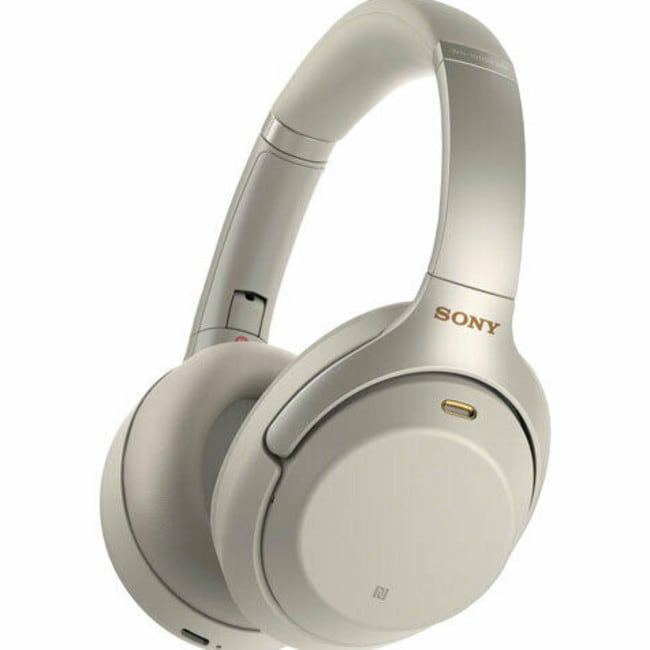Sony's wireless noise cancelling headphones are down to $289 from $419.