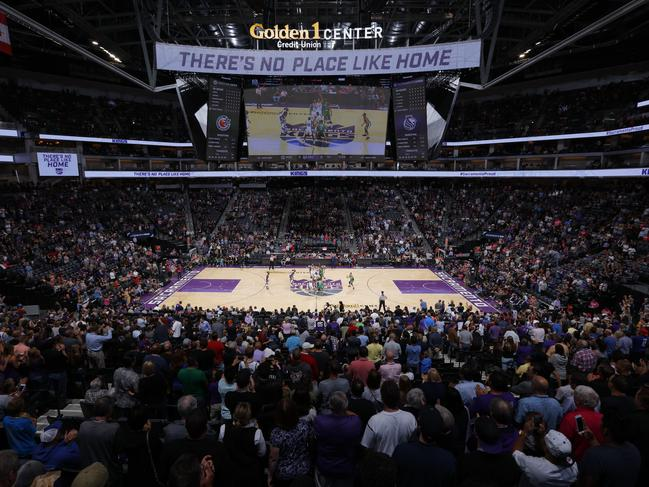 The Golden 1 Center where the Kings play their home games. (Photo by Rocky Widner/NBAE via Getty Images)