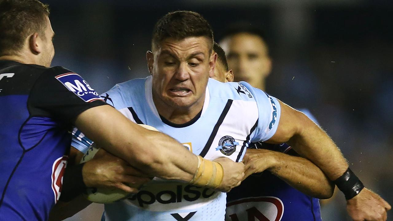 A payment to Chris Heighington is allegedly at the centre of Cronulla's salary cap scandal.