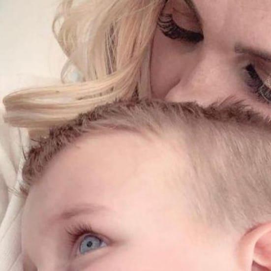 Her son changed everything for Kierstyn. Picture: Kierstyn Franklin