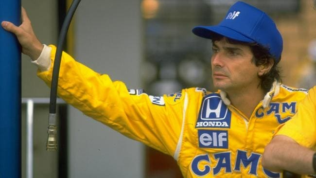 Piquet had little to smile about in 1988. Pic: Simon Bruty/Allsport