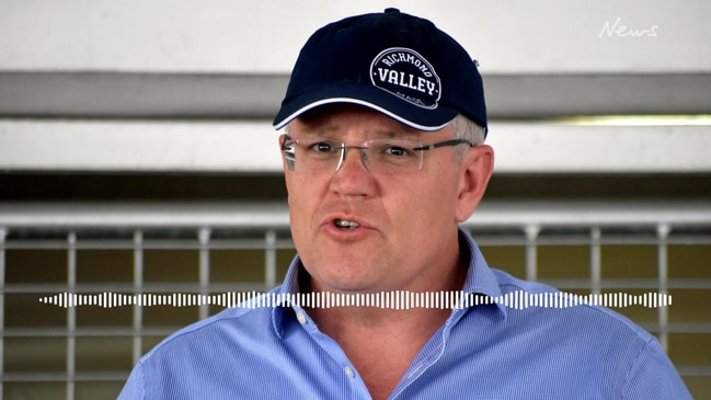 Scott Morrison mistakenly blames Labor for 'Scotty from marketing' nickname