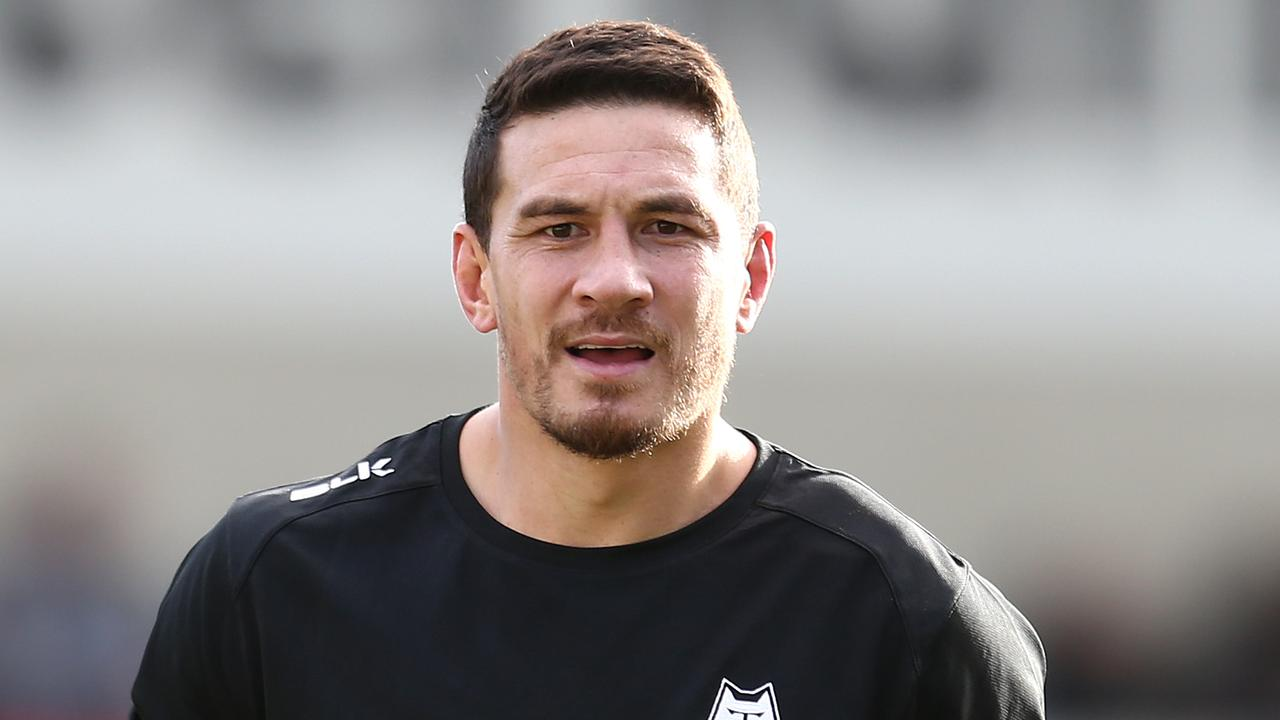 Sonny Bill Williams has sent a message to fans after his side's second loss. (Photo by Lewis Storey/Getty Images)