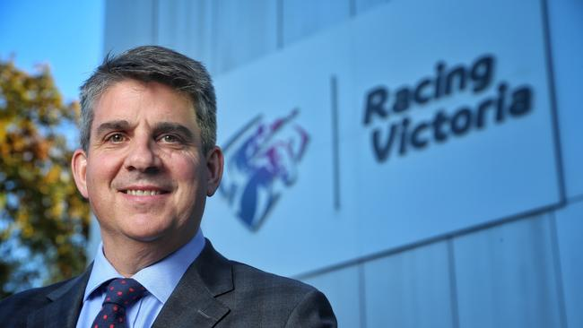 Racing Victoria Chairman Giles Thompson says the new races won't challenge the spring carnival. Picture: Hamish Blair