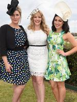 Winners and Losers stars Virginia Gay, Katherine Hicks and Melanie Vallejo. Picture: Tony Gough