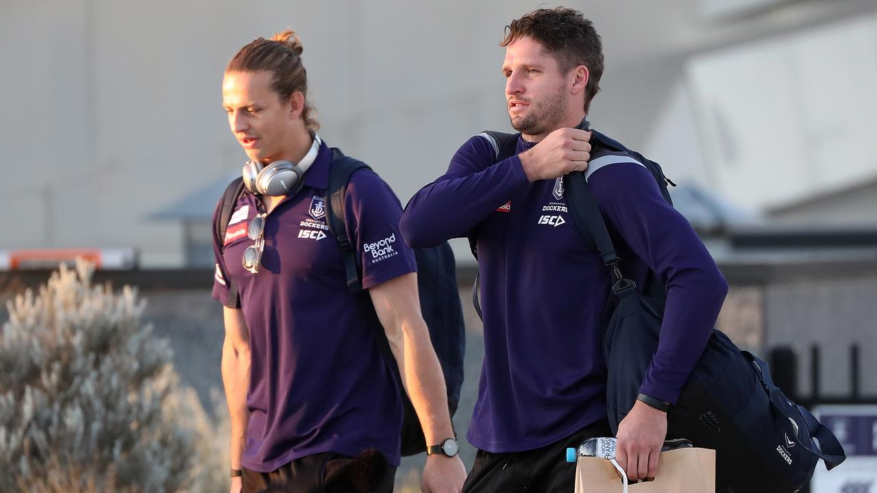 Jesse Hogan may join Nat Fyfe out there at the Gabba on Saturday afternoon. (Photo by Paul Kane/Getty Images)