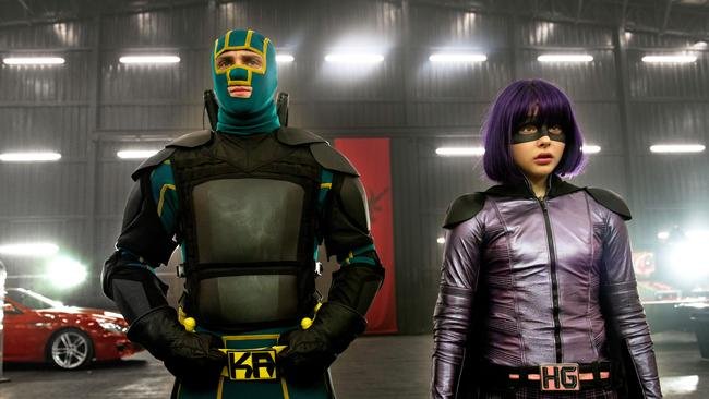 Aaron Taylor-Johnson as Kick-Ass and Chloe Grace Moretz as Hit Girl gave us a new look at superheroes.