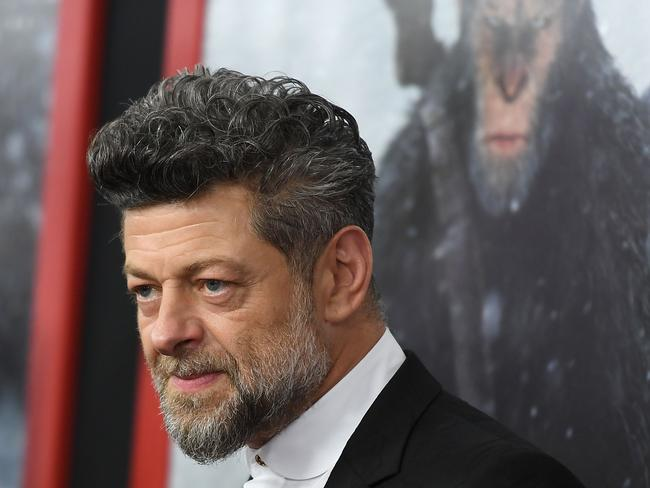 The man behind the motion-capture … Andy Serkis. Picture: AFP/Angela Weiss