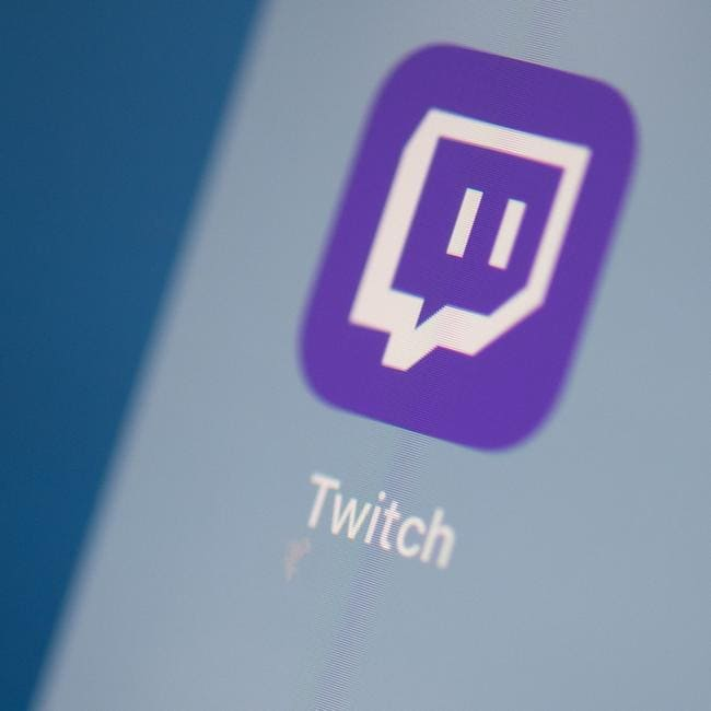 Livestreaming app Twitch is used by millions of people each day. Picture: Martin Bureau / AFP