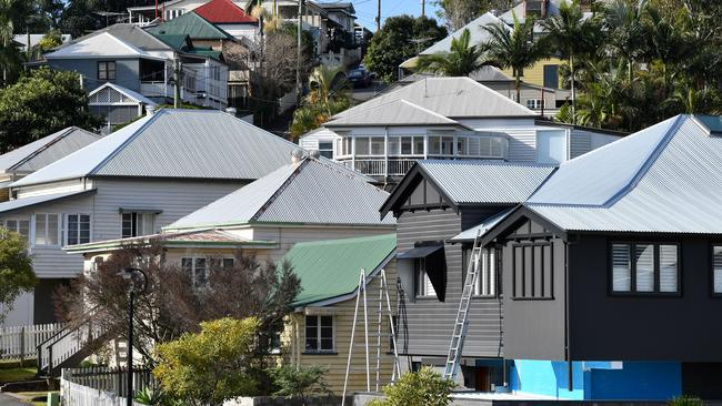 The top 10 growth suburbs in Brisbane achieved home price increases of more than 15 per cent in the past year, according to CoreLogic. Image: AAP/Darren England.