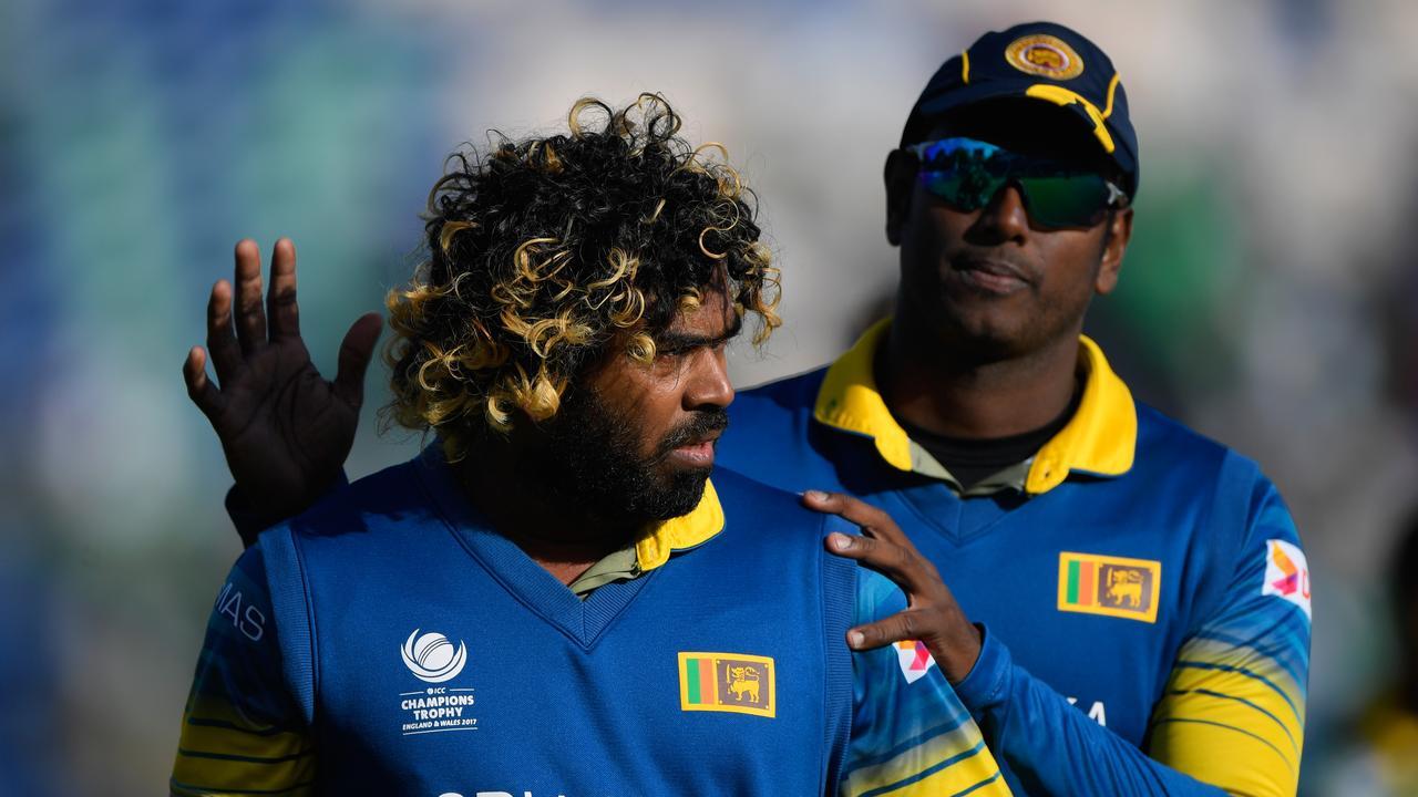 Sri Lanka bowler Lasith Malinga. (Photo by Stu Forster/Getty Images)