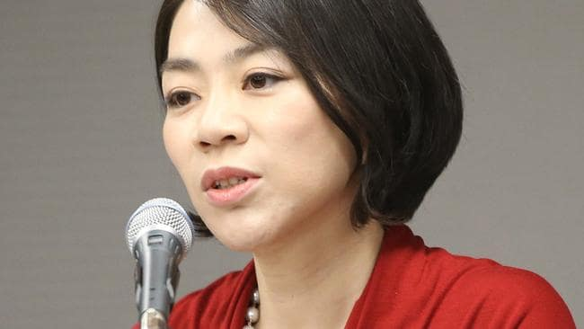 Heather Cho was Korean Air's vice president responsible for in-flight service. Picture: AP/Yonhap