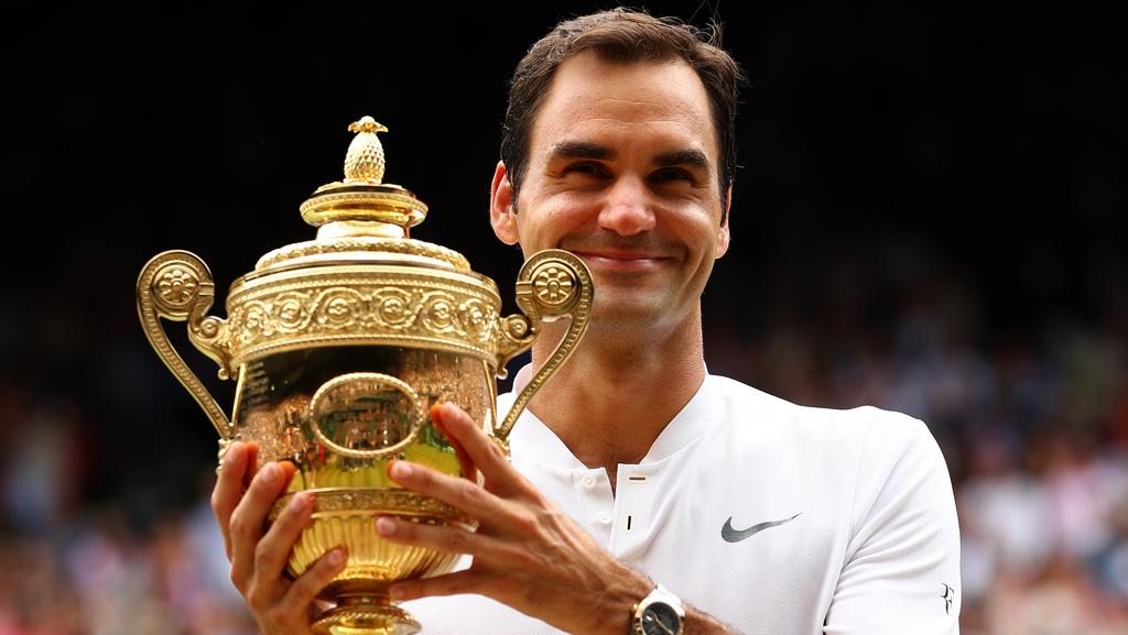 Roger federer wimbledon win can regain world no1 ranking herald sun roger federer now has eight wimbledon titles picture getty voltagebd Image collections