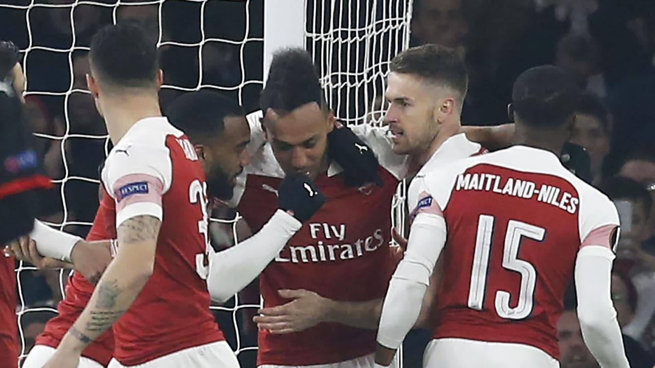 Arsenal made it a clean sweep for English sides in Europe