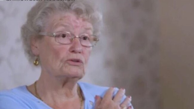 Doreen has now been left traumatised by the ordeal and has since suffered two heart attacks. Picture: BBC Crimewatch