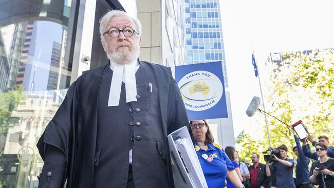 George Pell's lawyer Robert Richter has now apologised for his remarks in court. Picture: AAP