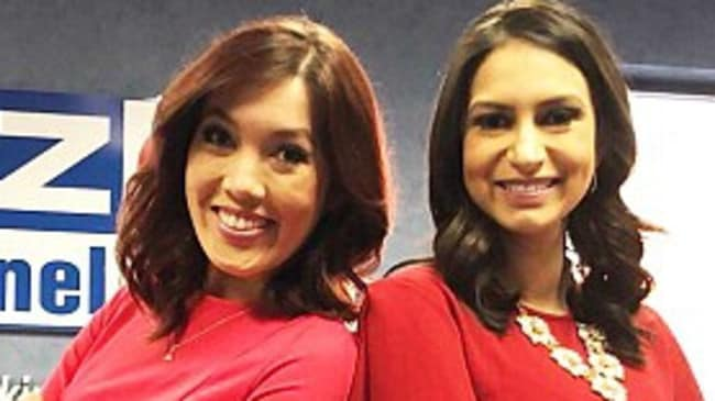 Weather Girl Chelsea Ambriz Tv Anchor Erica Bivens In Bar Brawl Daily Telegraph