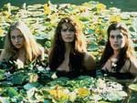 "1994: Actresses (L-R) Portia de Rossi, Elle MacPherson & Kate Fischer in 1994 film ""Sirens"". Picture: Supplied"
