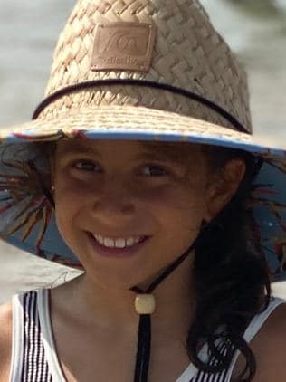 Sienna Abdallah, 8, was killed in the crash. Picture: Supplied/Daniel Abdallah