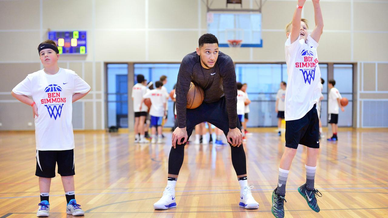 Ben Simmons has held basketball camps in Victoria.