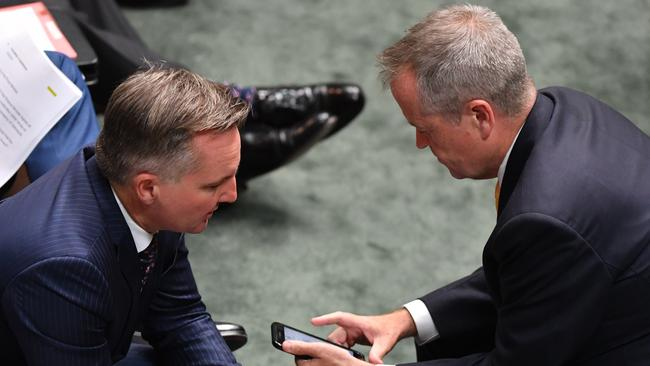 Chris Bowen and Bill Shorten have grown close over the past few years and have a strong working relationship.