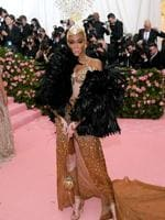 NEW YORK, NEW YORK - MAY 06: Winnie Harlow attends The 2019 Met Gala Celebrating Camp: Notes on Fashion at Metropolitan Museum of Art on May 06, 2019 in New York City. Neilson Barnard/Getty Images/AFP == FOR NEWSPAPERS, INTERNET, TELCOS & TELEVISION USE ONLY ==
