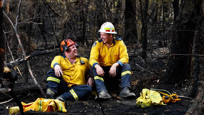 According to Indeed, job searches for fire-related jobs always spike during bushfire season. Picture: Sam Mooy/The Australian Newspaper