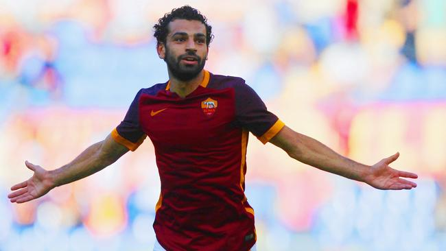 Mohamed Salah of AS Roma.