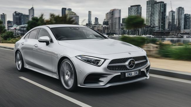 Mercedes Benz Cls New Curvy Coupe Heading To Australia