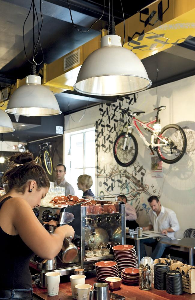 Lonsdale Street Roasters cafe in Canberra bringing cool to the city.