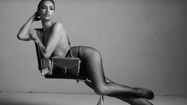 The sizzling photo shoot comes months after her split from actor Bradley Cooper, 44. Picture: Calvin Klein