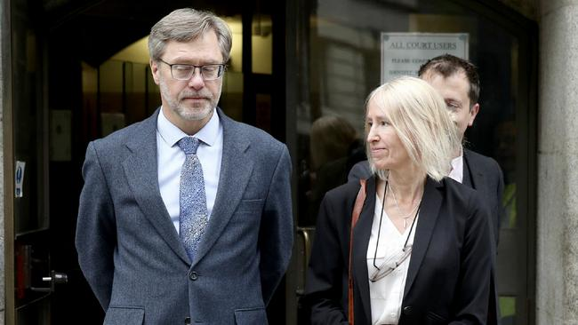 John Letts and Sally Lane say they were acting as any parents would have done when they tried to send their 23-year-old son cash. Picture: AP