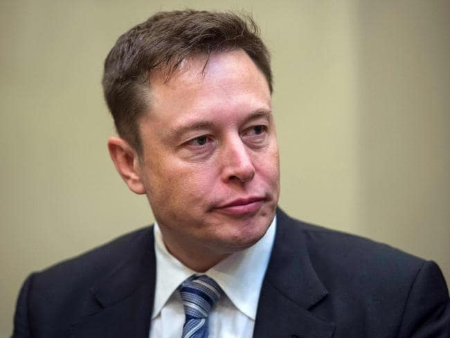 Musk says he may make a February announcement about the neural lace. Picture: Nicholas Kamm