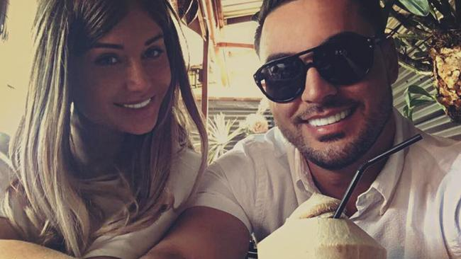 The image Salim Mehajer posted to counter rumours all was not well in he and his wife's relationship. Source: Facebook