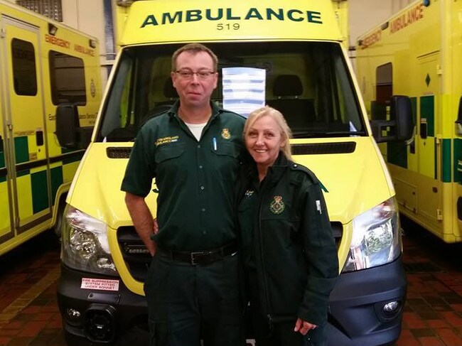 Brenda Fox was attacked while working as a paramedic. Picture: Supplied / ITV