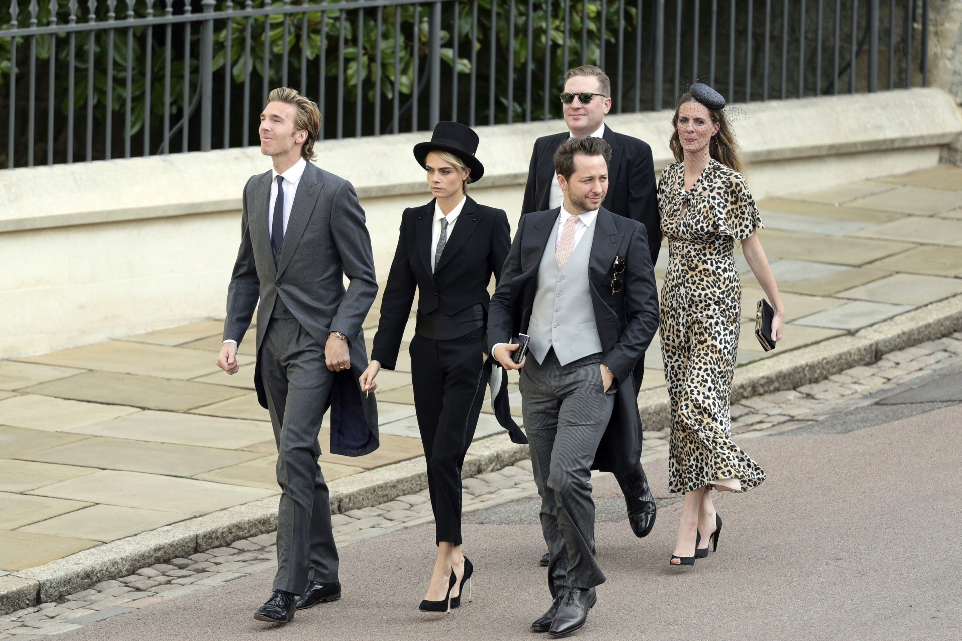 The guests at Princess Eugenie's royal wedding who missed the dress code