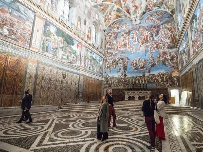 Photography is banned inside the Sistine Chapel in Vatican City. Picture: TripAdvisor