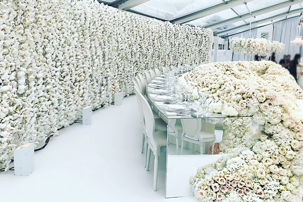 The celebrity florist to Kim Kardashian West shares his secrets to show-stealing wedding day flowers