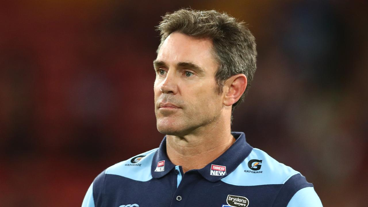 Blues coach Brad Fittler was left 'shattered'.