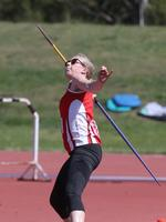 Action from the 2020 Age Track and Field Championships at the Domain Athletic Centre in Hobart. Picture: LUKE BOWDEN