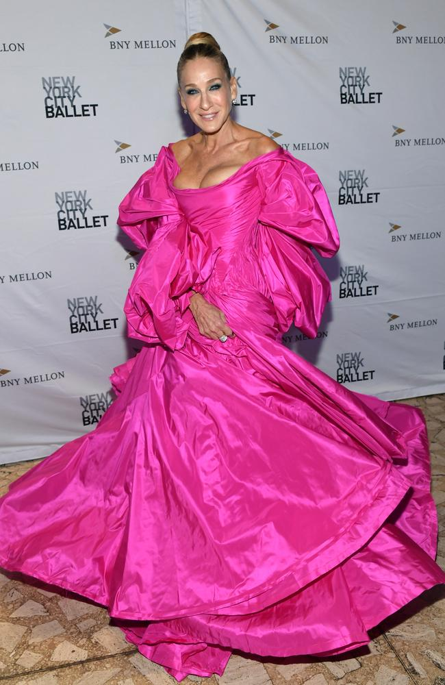 Pretty in pink! Picture: Getty Images