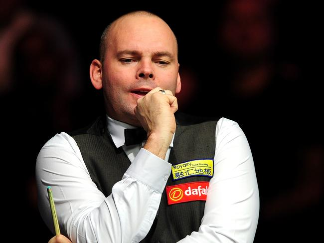 Stuart Bingham was not happy!