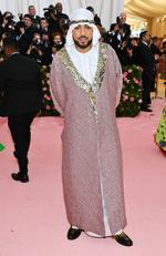 French Montana attends The 2019 Met Gala Celebrating Camp: Notes on Fashion at Metropolitan Museum of Art on May 06, 2019 in New York City. (Photo by Dimitrios Kambouris/Getty Images for The Met Museum/Vogue)