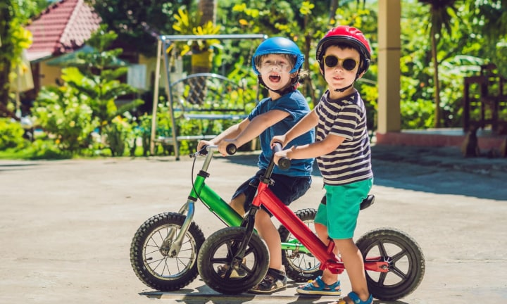 Balance bike or tricycle: How to know which one is best for your child