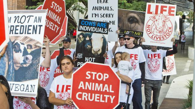 Animal activists say today's action will be the biggest the world has ever seen.