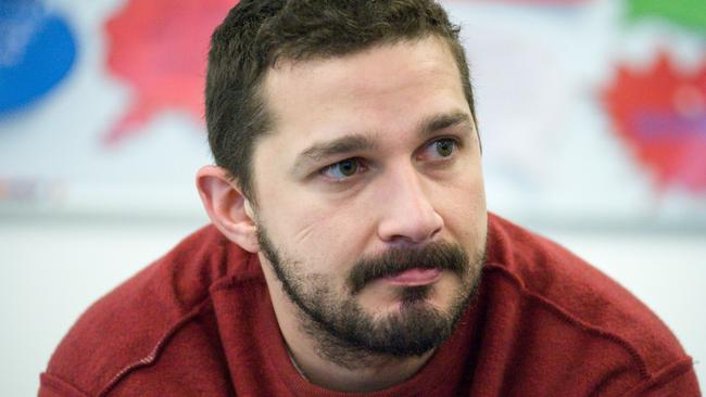 Shia LaBeouf has attracted attention for his off-screen dramas as well as his on-screen performances. Picture by: Rex Features/Splash News