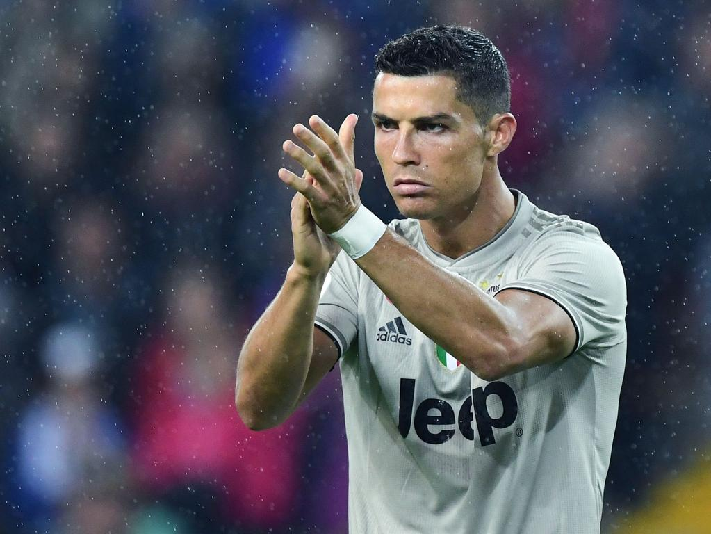 Cristiano Ronaldo plays for Juventus in Italy. (Photo by Miguel MEDINA / AFP)