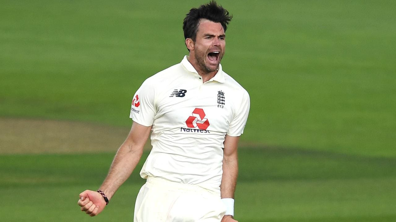 James Anderson was back to his best on day one of the first Test.