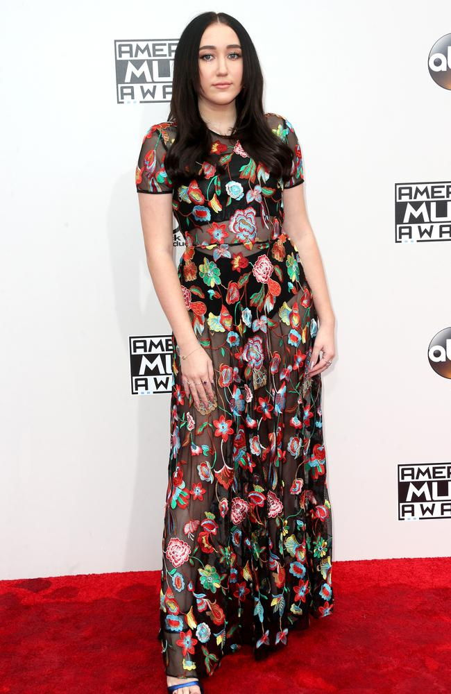 Miley's younger sister Noah Cyrus at the 2016 American Music Awards. Picture: Getty